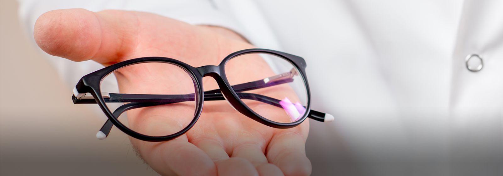 Badanie wzroku podwzględem okularów